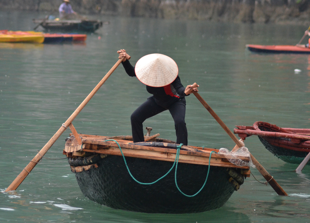 Vietnamese Local Boats, Best Halong Bay Overnight Cruise Tours from Hanoi