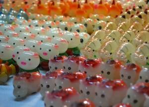 Cute Asian Trinkets, Hanoi Night Market, Hang Dao, Weekend Nightlife