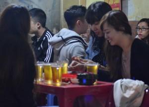 Bia Hoi Girls, Hanoi Night Market, Hang Dao, Weekend Nightlife