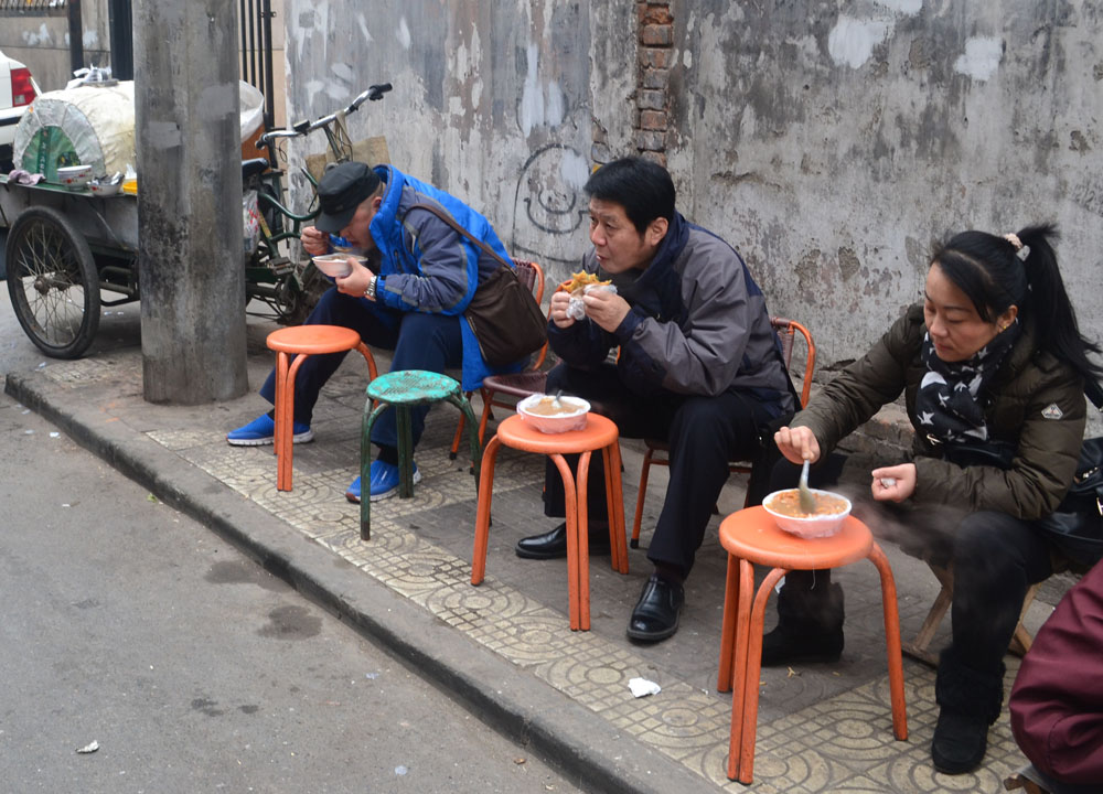 Soup on the street chinese street food in china xian