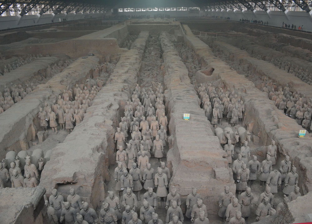Top Attractions in Xian China (Shaanxi Province)