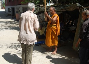 Splash Blessed by Monk, Isaan Tours and Phanom Rung Thailand