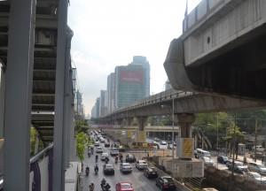 Surasak Skytrain Station, Buying Diamonds in Bangkok, Thailand