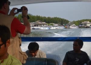 Travelling by Speed Boat, Santhiya Koh Yao Yai Resort Pool Villas, Thailand