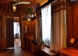 Teak Hallway and Closets, Santhiya Koh Yao Yai Resort Pool Villas, Thailand