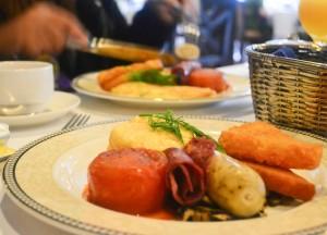 Halal English Breakfast, Cameron Highlands Resort, Malaysia