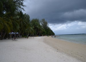 Sandy West Coast Beach, No Alcohol, Perhentian Besar, Malaysia