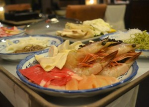 Seafood Steamboat Soup,Cameron Highlands Resort, Malaysia