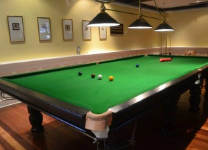 Full Size Snooker Table, Cameron Highlands Resort, Malaysia