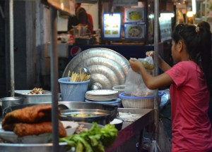 Moo Grob Pork Belly, Best Sukhumvit 38 Street Food, Bangkok