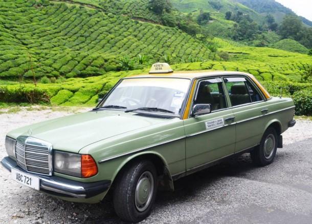 Taxi to the Tea Farm, Cameron Highlands Resort, Malaysia