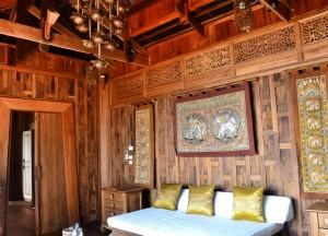 Interior Design of Living Room, Santhiya Koh Yao Yai Resort Pool Villas, Thailand