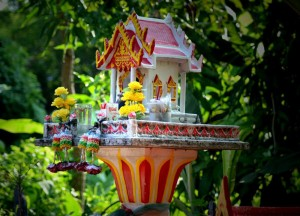 Traditional Spirit House, Isaan Tours and Phanom Rung