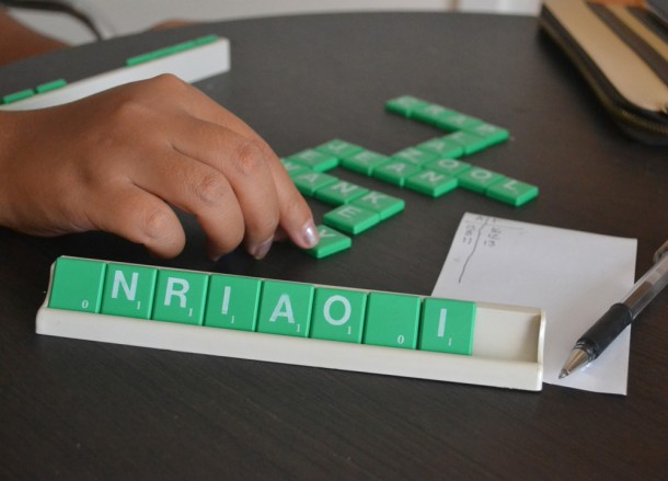 Playing Scrabble and Games, Power Outages in Bangkok