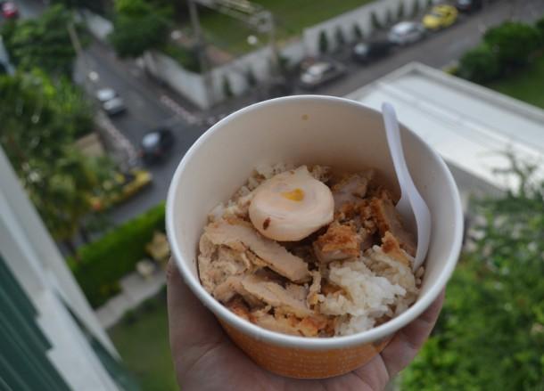 International Street Food in Bangkok, Katsu in a Tub
