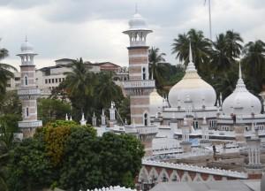 Jamek Mosque, Mosques in Kuala Lumpur Malaysia