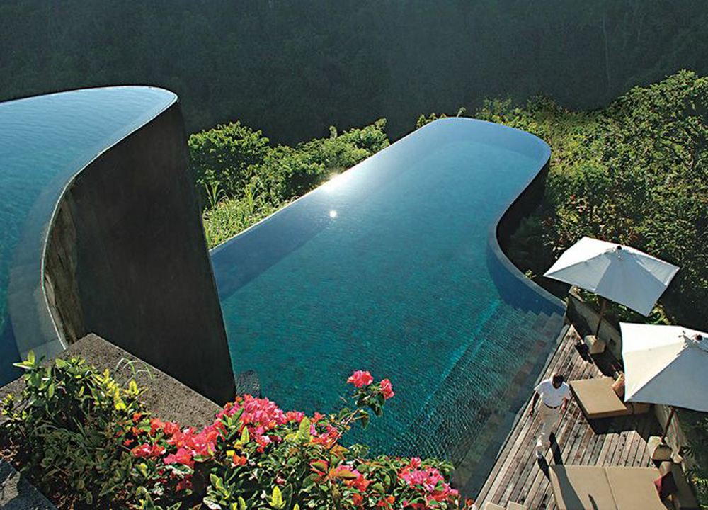Top 10 ubud resorts pool villas and spas in central bali for Top ten hotels in bali