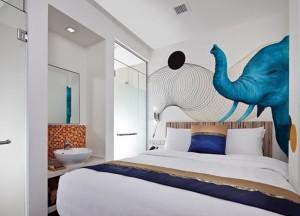Best Design Boutique Hotels in Singapore, Unique Wall Art