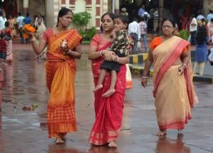 Local Pilgrims, Dakshineswar Kali Temple, Hooghly River, Kolkata