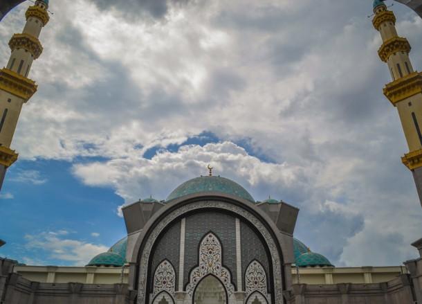 Two Towers, Mosques in Kuala Lumpur Malaysia