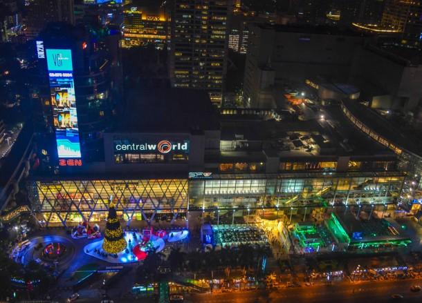 Central World Views, Intercontinental Bangkok Hotel Review, Chit Lom