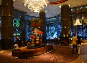 Expansive Lobby, Intercontinental Bangkok Hotel Review, Chit Lom