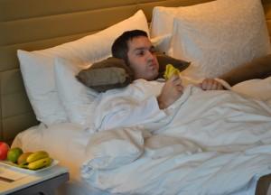 Bed Like a Cloud, Intercontinental Bangkok Hotel Review, Chit Lom