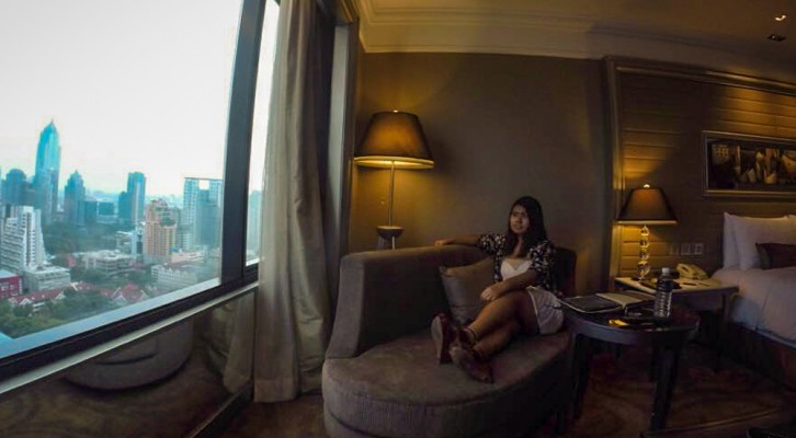 Indulgence in the Intercontinental Bangkok