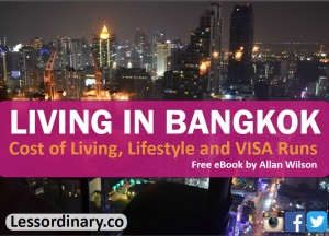 Living in Bangkok eBook, Living cheap in Bangkok Thailand