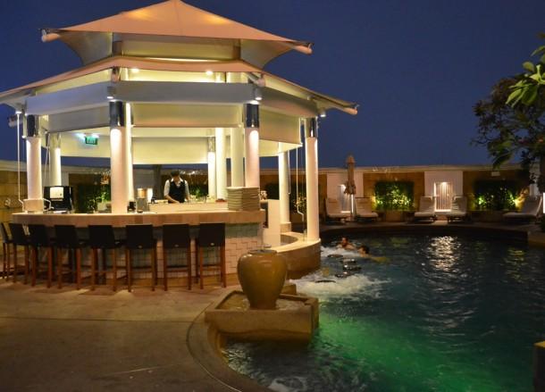 Rooftop Pool and Bar, Intercontinental Bangkok Hotel Review, Chit Lom