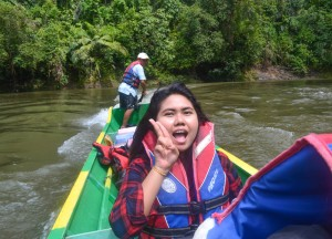 Long Boat Travel in Brunei, Phobias in Borneo Rainforests