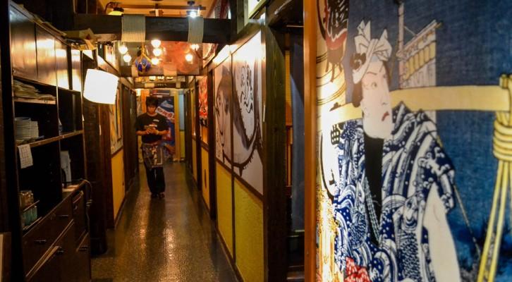 Arcades and Izakaya in Sendai (Japan)