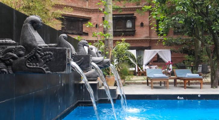 Dwarika's Hotel Kathmandu. Simply Stunning.