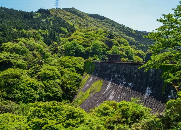 Kawachi Dam, Travel to Kawachi Fuji Garden and Wisteria Tunnel