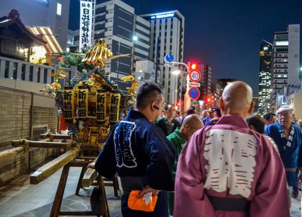 Hibiya Shrine, Shimbashi Station Area Tokyo JR Pass Japan