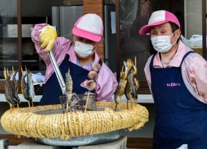 Food Kiosk, Travel to Mount Fuji Shibazakura Flower Festival
