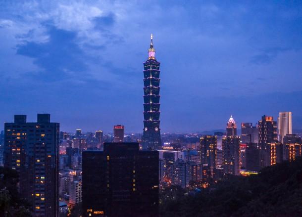 Sunset Viewpoint, Best Views of Taipei 101, Elephant Mountain