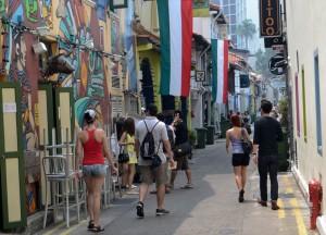 Bugis Area. Clover 33 Jalan Sultan Boutique Hotel in Bugis Singapore