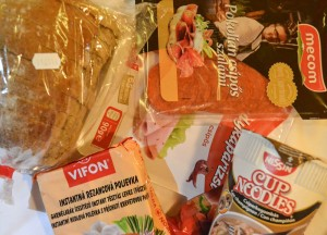 Backpacker snacks, Budapest Underground Metro Tourist Scam