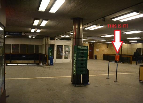 Ticket Machine, Budapest Underground Metro Tourist Scam