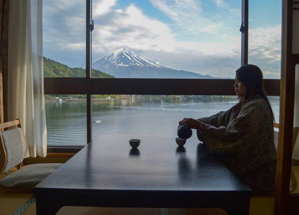 Ryokan Hotels At Mount Fuji And Lake Kawaguchiko Japan