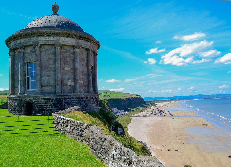 Top 10 Causeway Coast Attractions In Northern Ireland Map