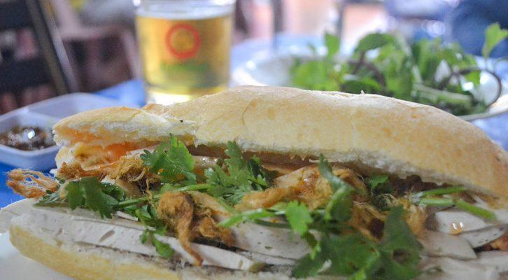 A Simple Lao Sandwich Shop