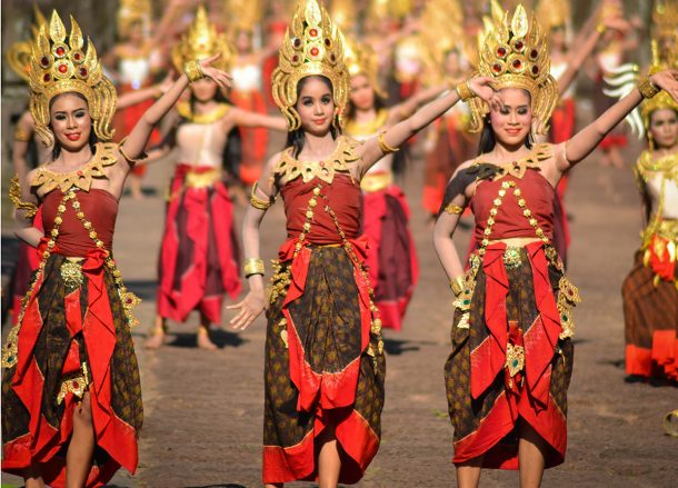 Phanom Rung Festival Dance Performance